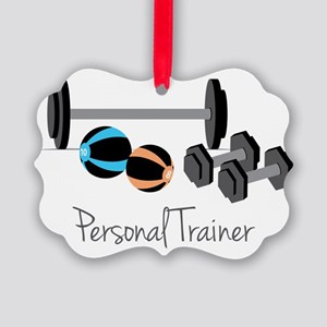 Personal Trainer Picture Ornament