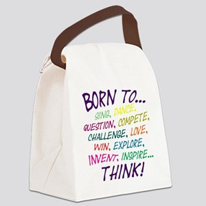 Born To... Canvas Lunch Bag