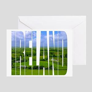 Ireland Green Pastures Photo Greeting Card