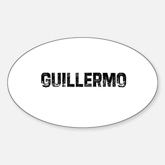 Guillermo Oval Decal