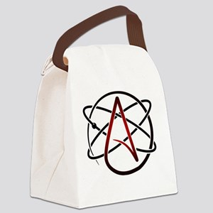 Modern Atheist Atomic Color Canvas Lunch Bag