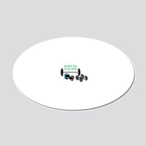 At The Office 20x12 Oval Wall Decal