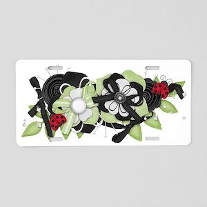 Beyond Ladybugs Aluminum License Plate
