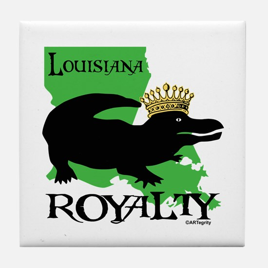 Louisiana Royalty Tile Coaster