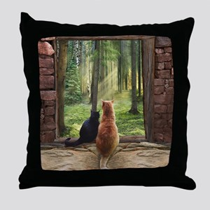 Doorway into Forever nc Throw Pillow