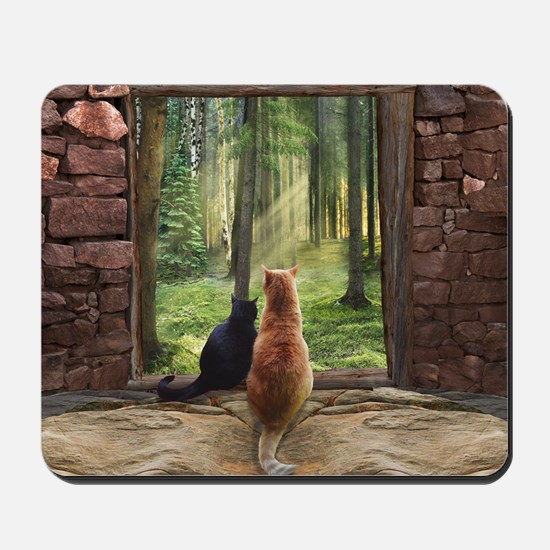 Doorway into Forever nc Mousepad