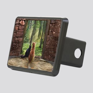 Doorway into Forever nc Rectangular Hitch Cover
