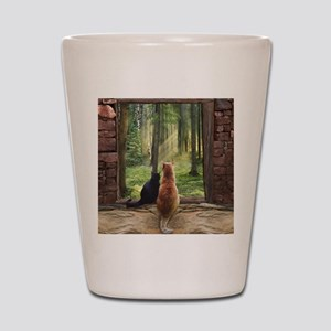 Doorway into Forever nc Shot Glass