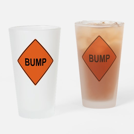 Bump Drinking Glass