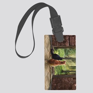 Doorway into Forever nv Large Luggage Tag