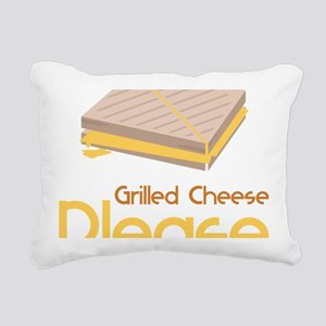 Grilled Cheese Please Rectangular Canvas Pillow