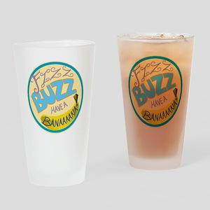 Cabin Pressure: FIZZ BUZZ HAVE A BA Drinking Glass