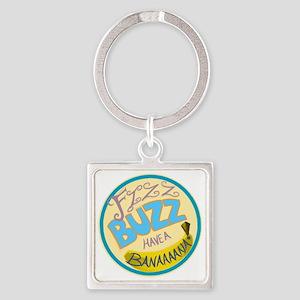 Cabin Pressure: FIZZ BUZZ HAVE A B Square Keychain