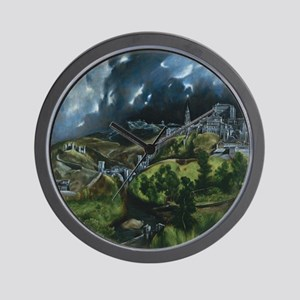 El Greco View of Toledo Wall Clock