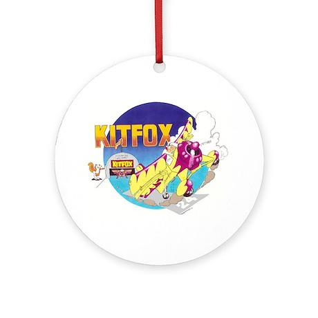 KIT FOX II Ornament (Round)