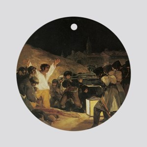 Francisco de Goya The Third Of May Round Ornament