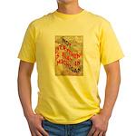 Flat Michigan Yellow T-Shirt