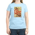 Flat Michigan Women's Light T-Shirt