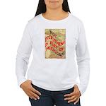 Flat Michigan Women's Long Sleeve T-Shirt