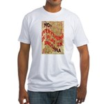 Flat Indiana Fitted T-Shirt
