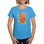 Flat Indiana Women's Dark T-Shirt