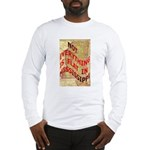 Flat Mississippi Long Sleeve T-Shirt
