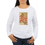 Flat Mississippi Women's Long Sleeve T-Shirt