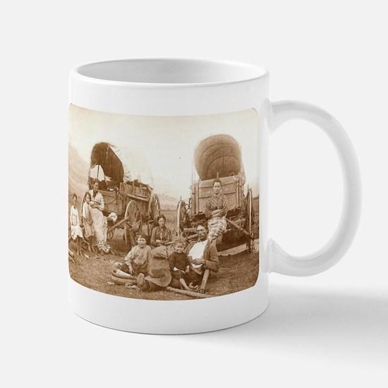 Old Wild West Oregon Trail Collectible Coffee Mug