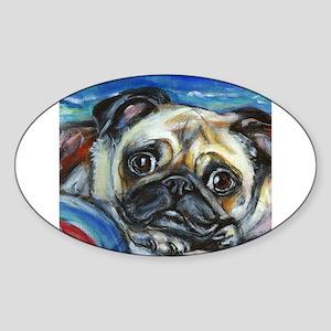 Pug Smile Sticker