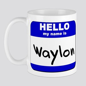 hello my name is waylon  Mug