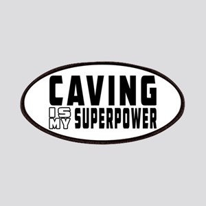 Caving Is My Superpower Patches