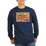Flat Washington Long Sleeve Dark T-Shirt