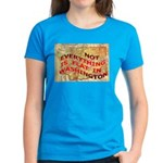 Flat Washington Women's Dark T-Shirt