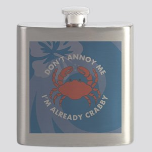 Dont Annoy Me Round Compact Mirror Flask
