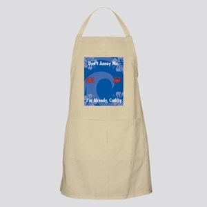 Dont Annoy Me Rectangular Locker Frame Apron