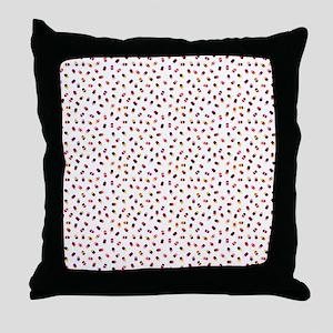 Popsicles on White Throw Pillow