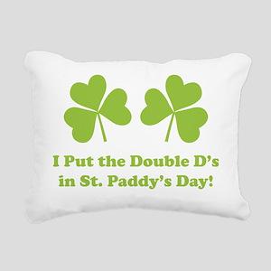 doubleDsSPDay1E Rectangular Canvas Pillow