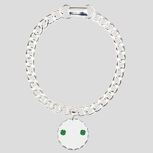 irishSpankMe1B Charm Bracelet, One Charm
