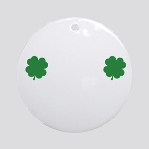 irishSpankMe1B Round Ornament