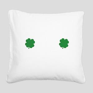 irishSpankMe1B Square Canvas Pillow