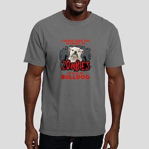 Bulldog - I Would Push Y Mens Comfort Colors Shirt