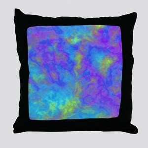 Psychedelic Mushrooms Effects Throw Pillow