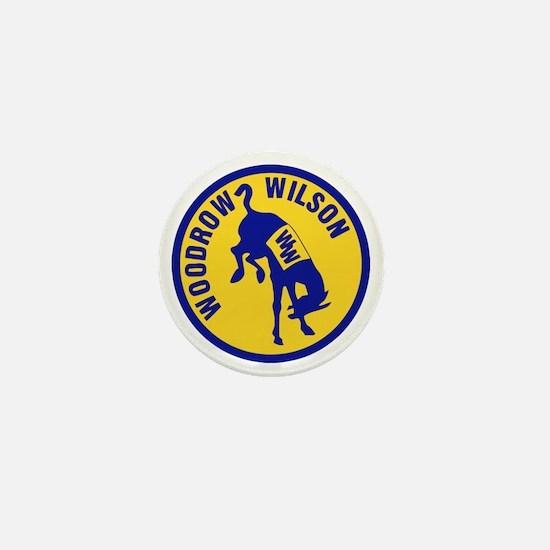Woodrow Wilson Mini Button