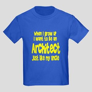 WIGU Architect Uncle Kids Dark T-Shirt
