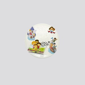 Oh the Places BL Mini Button