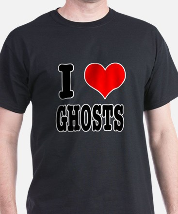 I Heart (Love) Ghosts T-Shirt