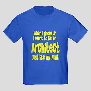 WIGU Architect Aunt Kids Dark T-Shirt