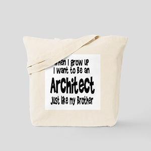 WIGU Architect Brother Tote Bag