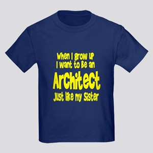 WIGU Architect Sister Kids Dark T-Shirt