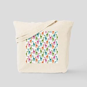Giraffes Flip Flops Tote Bag